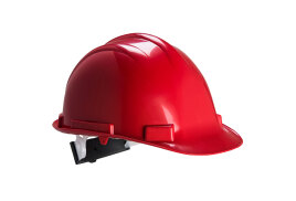 Expertbase Safety Helmet (Colour: Red)