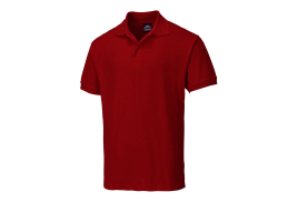 Naples Polo Shirt (Colour: Maroon, Size: Small)