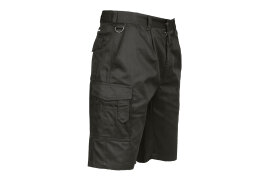 Combat Shorts (Colour: Black, Size: Large)