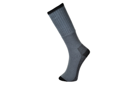 Work Sock - Triple Pack (Colour: Grey, Size: 39-43)