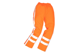 RWS Traffic Trousers (Colour: Orange, Size: 3XL)