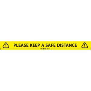 Safe / Social Distancing Tape (48mm x 66m)