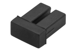 StarTech.com LC SFP Dust Covers (Black) 10 Pack