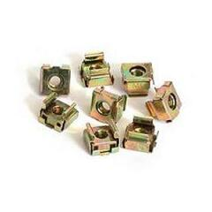 StarTech.com M5 Cage Nuts for Server Rack Cabinets Rack nuts (pack of 50) Image