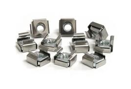 StarTech.com Cage Nuts For Server Rack Cabinet M6 - (50 Pkg)