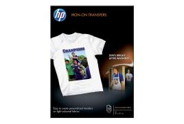HP Iron-on T-Shirt Transfers 170g/m2 A4 (Pack of 12)
