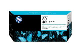HP 80 Inkjet Printhead and Cleaner (Black)