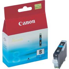 Canon CLI-8C (Yield: 420 Pages) Cyan Ink Cartridge Image