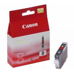 Canon CLI-8R (Yield: 420 Pages) Red Ink Cartridge Image
