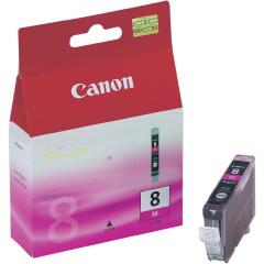 Canon CLI-8M (Yield: 420 Pages) Magenta Ink Cartridge Image