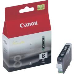 Canon CLI-8BK (Yield: 420 Pages) Black Ink Cartridge Image