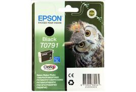 Epson Owl T0791 (Yield: 470 Pages) Black Ink Cartridge