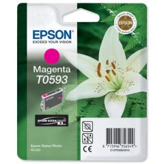 Epson T0593 Magenta Ink Cartridge for Stylus R2400 Printer Image