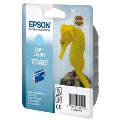 Epson Seahorse T0485 (Yield: 450 Pages) Light Cyan Ink Cartridge Image