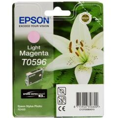 Epson Lily T0596 (Yield: 450 Pages) Light Magenta Ink Cartridge Image