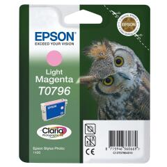 Epson Owl T0796 (Yield: 930 Pages) Light Magenta Ink Cartridge Image
