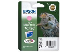 Epson Owl T0796 (Yield: 930 Pages) Light Magenta Ink Cartridge