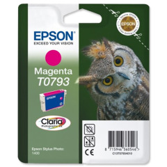 Epson Owl T0793 (Yield: 685 Pages) Magenta Ink Cartridge Image