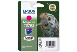 Epson Owl T0793 (Yield: 685 Pages) Magenta Ink Cartridge