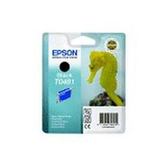 Epson Seahorse T0481 (Yield: 450 Pages) Black Ink Cartridge Image