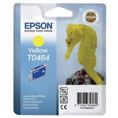 Epson Seahorse T0484 (Yield: 450 Pages) Yellow Ink Cartridge Image