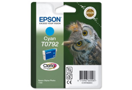 Epson Owl T0792 (Yield: 1,425 Pages) Cyan Ink Cartridge