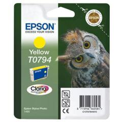 Epson Owl T0794 (Yield: 714 Pages) Yellow Ink Cartridge Image