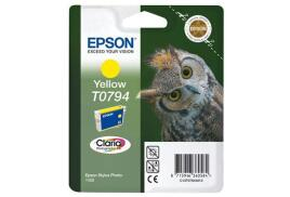 Epson Owl T0794 (Yield: 714 Pages) Yellow Ink Cartridge