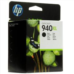 HP 940XL (Yield: 2,200 Pages) Black Ink Cartridge Image