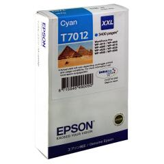 Epson Pyramid T7012 XXL (Yield: 3,400 Pages) Extra High Yield Cyan Ink Cartridge Image