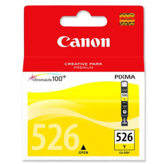 Canon CLI-526Y (202 Photos) Yellow Ink Cartridge Image