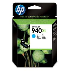 HP 940XL (Yield: 1,400 Pages) Cyan Ink Cartridge Image