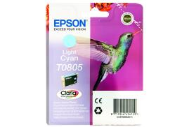 Epson Hummingbird T0805 (Yield: 345 Pages) Light Cyan Ink Cartridge