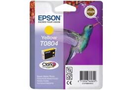Epson Hummingbird T0804 (Yield: 460 Pages) Yellow Ink Cartridge