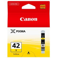 Canon CLI-42Y (284 Photos) Yellow Ink Cartridge Image