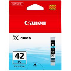 Canon CLI-42PC (292 Photos) Photo Cyan Ink Cartridge Image