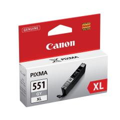 Canon CLI-551GYXL (275 Photos) High Yield Grey Ink Cartridge Image