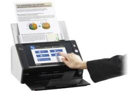Fujitsu N7100 (A4) Colour Network Duplex Scanner 8.4 inch TFT Display 25ppm 600dpi