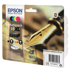 Epson Pen and Crossword 16XL Multipack 4 Colour DURABrite Ultra Ink Cartridges (Black/Cyan/Magenta/Yellow) Image