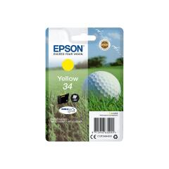 Epson Golf Ball 34 T3464 (Yield 300 pages) DURABrite Ultra Yellow 4.2ml Ink Cartridge Image