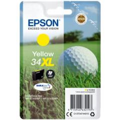 Epson Golf Ball 34XL T3474 (Yield 950 pages) DURABrite Ultra Yellow 10.8ml Ink Cartridge Image