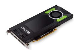 Lenovo NVIDIA Quadro P4000 Graphics Card 8GB GDDR5 PCI Express DisplayPort with Long Extender (Black/Green)