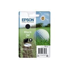 Epson Golf Ball 34 (6.1ml) DURABrite Ultra Black Ink Cartridge Image