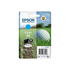 Epson Golf Ball 34 T3462 (Yield 300 pages) DURABrite Ultra Cyan 4.2ml Ink Cartridge Image