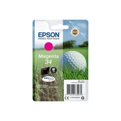 Epson Golf Ball 34 T3463 (Yield 300 pages) DURABrite Ultra Magenta 4.2ml Ink Cartridge Image
