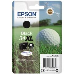 Epson Golf Ball 34XL (16.3ml) DURABrite Ultra Black Ink Cartridge Image
