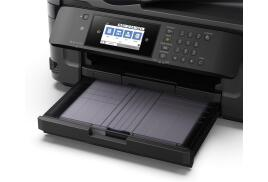 Epson WorkForce WF-7710DWF (A3) Colour Inkjet Wireless Multifunction Printer (Print/Copy/Scan/Fax) 10.9cm Colour LCD 18ppm (Mono) ISO 10ppm (Colour) ISO 20,000 (MDC)