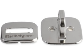 StarTech.com Steel Cable Lock Anchor (Silver)